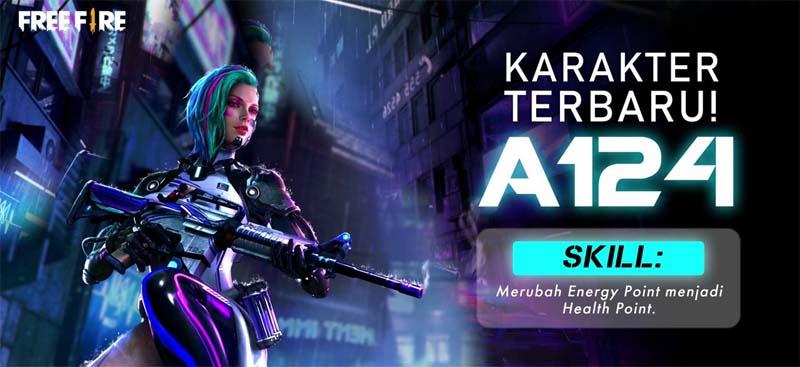 Bahas Tuntas Gun Skin Box A124 Free Fire, Skin Robot FF | Esportsku