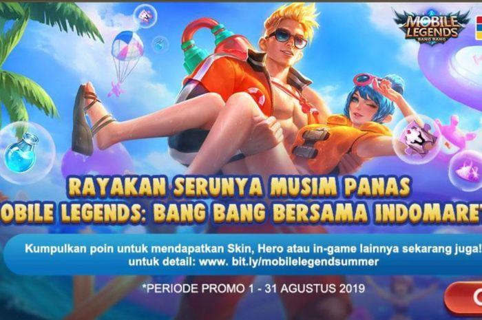 Cómo obtener el skin gratis Summer Mobile Legends