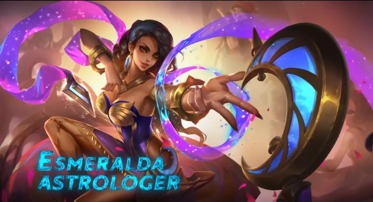 Elemento de construcción Mobile Legends Esmeralda