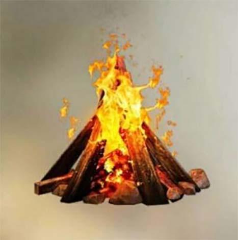 Free Fire Campfire.