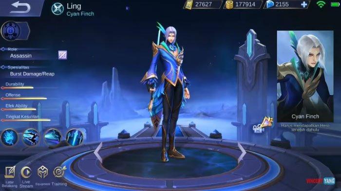Error de jugador al usar Ling en Mobile Legends