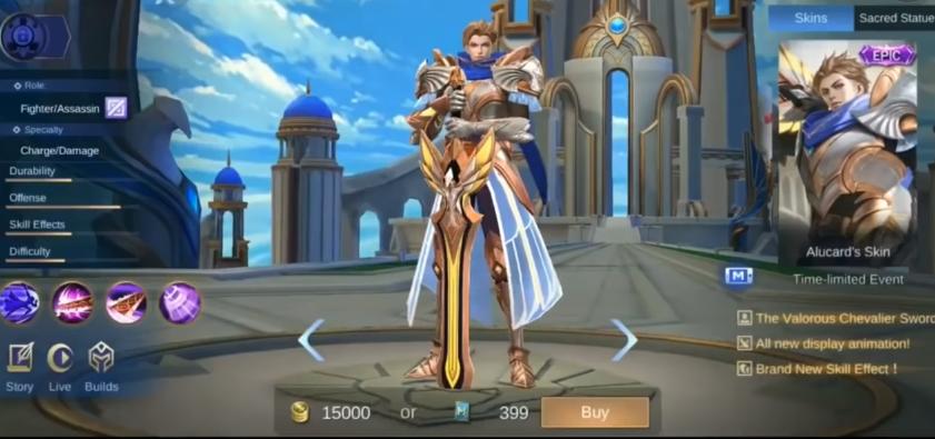 Sufriendo del User Hero Alucard en Mobile Legends, ¡la alimentación continúa!