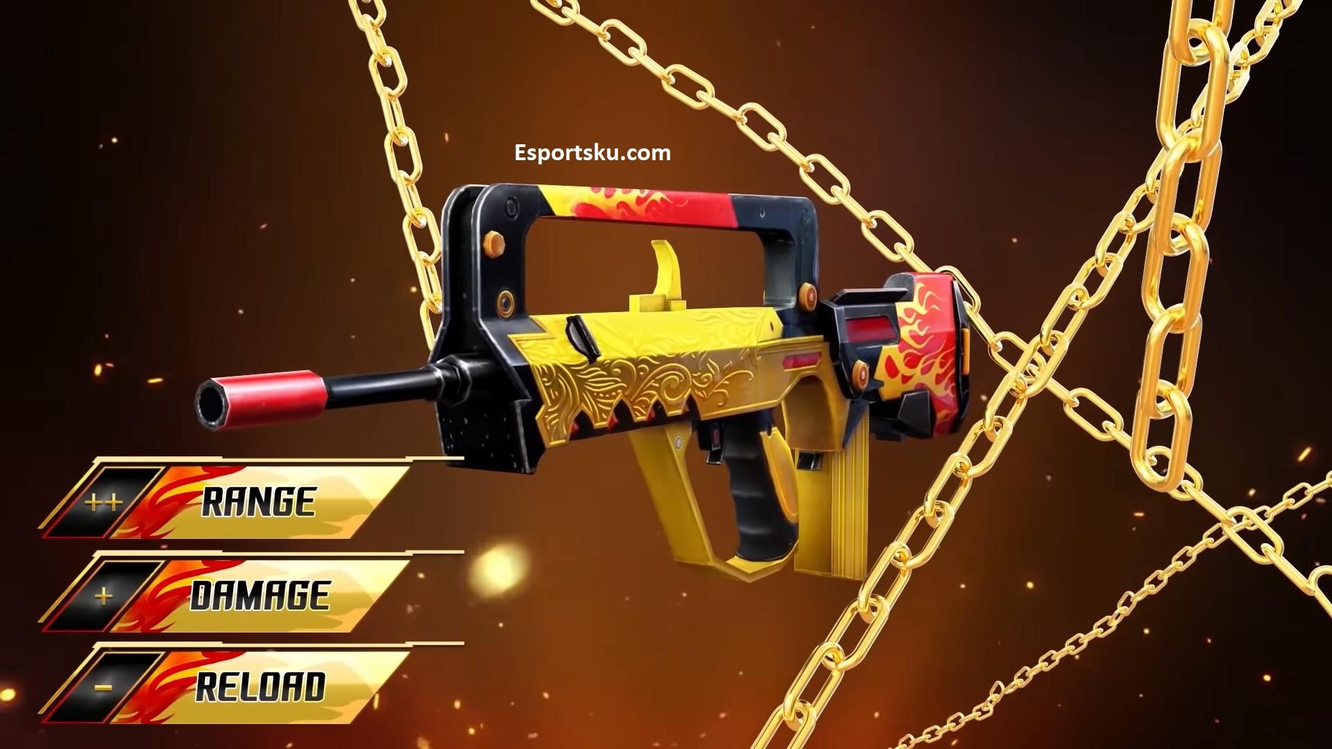 Senjata Ff Mematikan Untuk Headshot Free Fire 2020 Esportsku