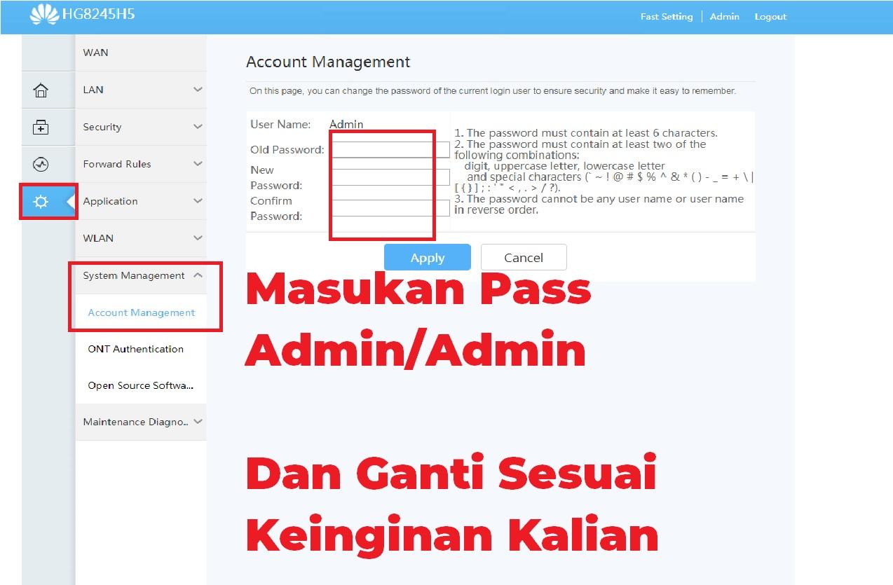 Setting Modem Indihome Huawei Hg8245h5 Password Login Admin Esportsku