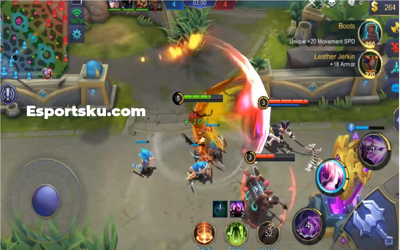 ¡Hero Martis ML, The King of Fighter Mobile Legends!
