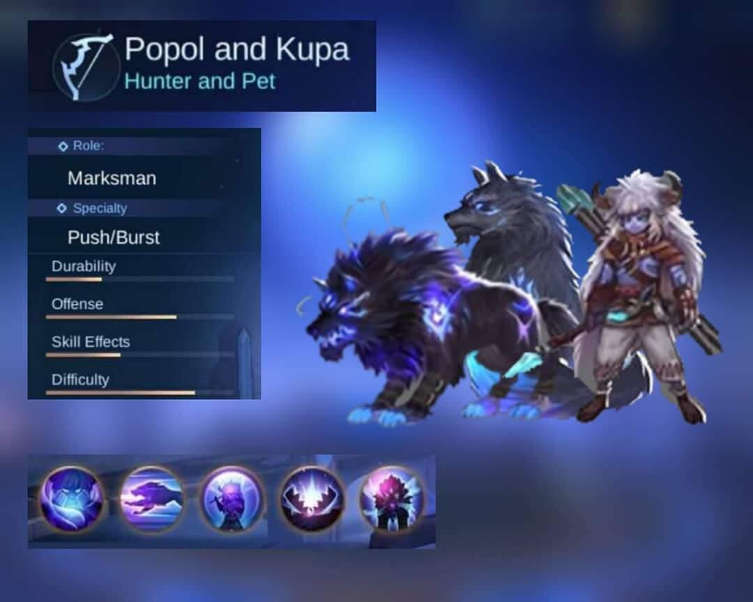 Cara Menggunakan Popol Dan Kupa Season 16 Mobile Legends Esportsku