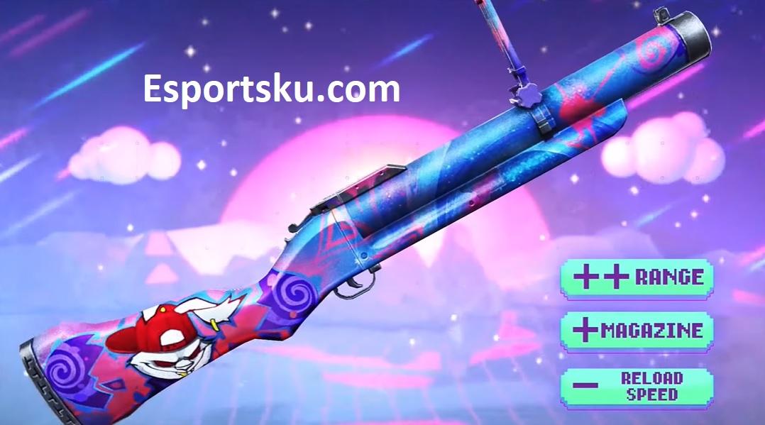 Skin Weapon Royale Ff M79 Terbaru Free Fire 2020 Bunny Hop Esportsku