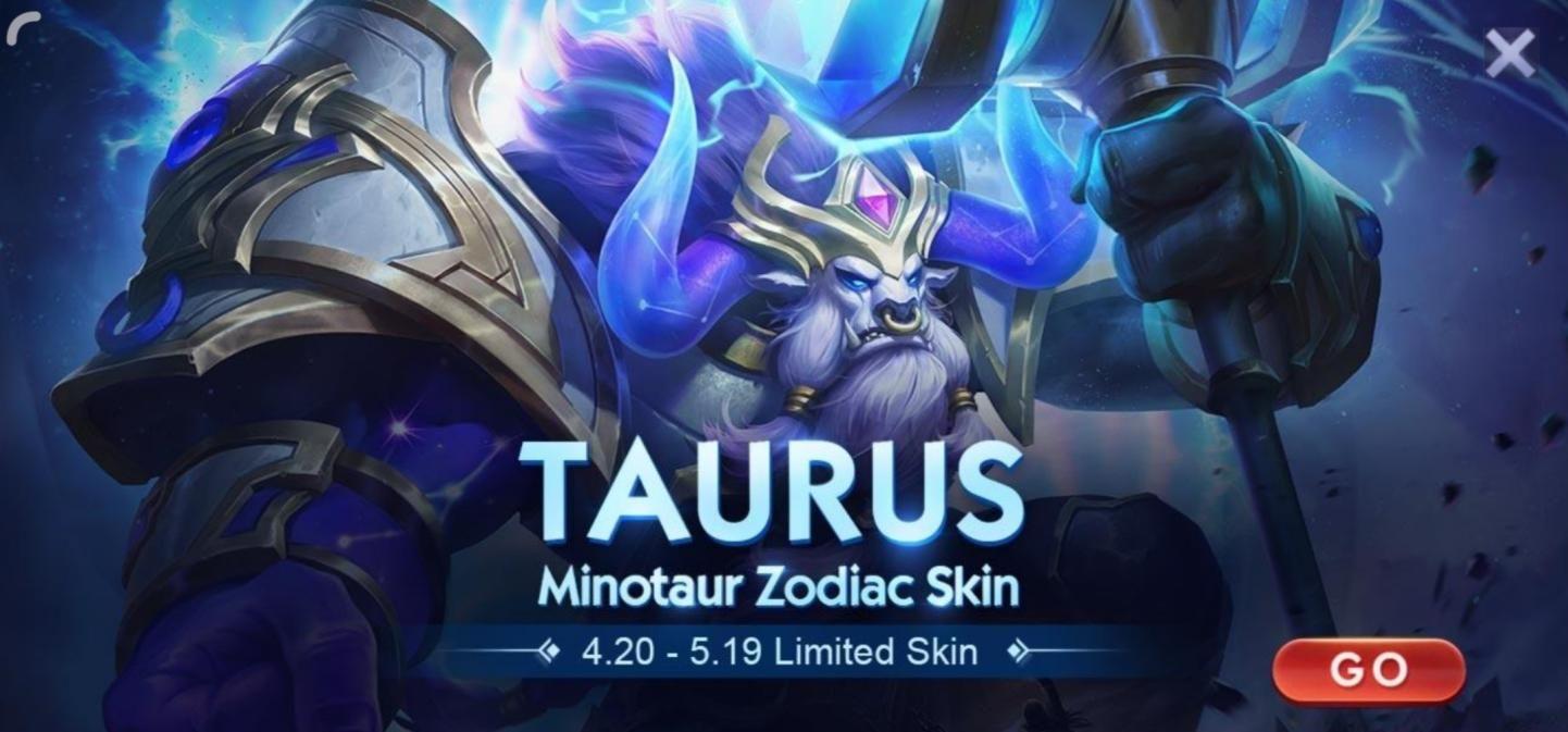 Precio de la piel Zodiac Mobile Legends