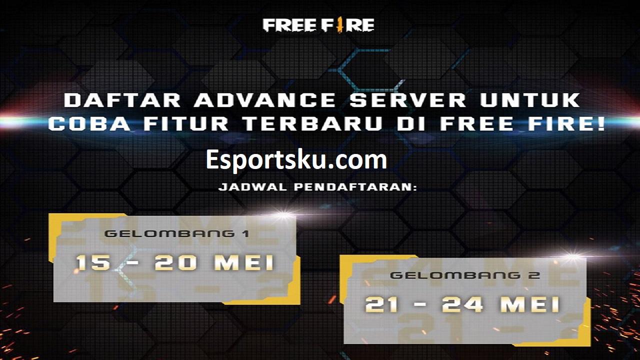 Advance Server Ff Mei 2020 Cara Daftar Dan Bermain Terbatas Esportsku