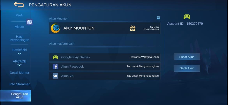 Cara Membuat 2 Akun Mobile Legends Di 1 Hp Android Esportsku