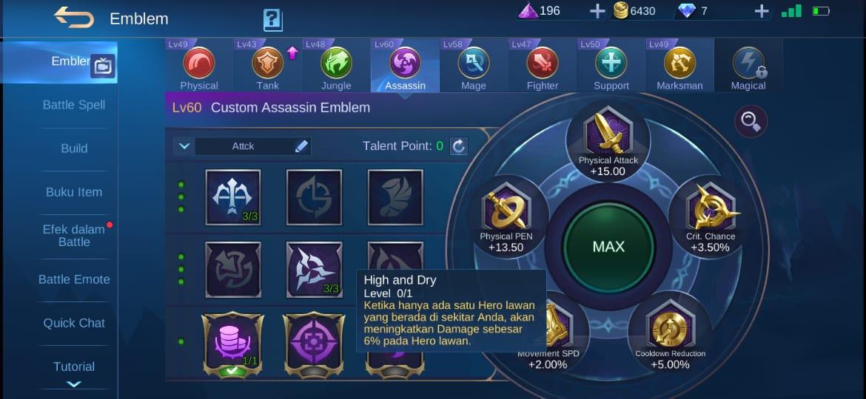 5 mejores talentos Alpha Mobile Legends (ML)