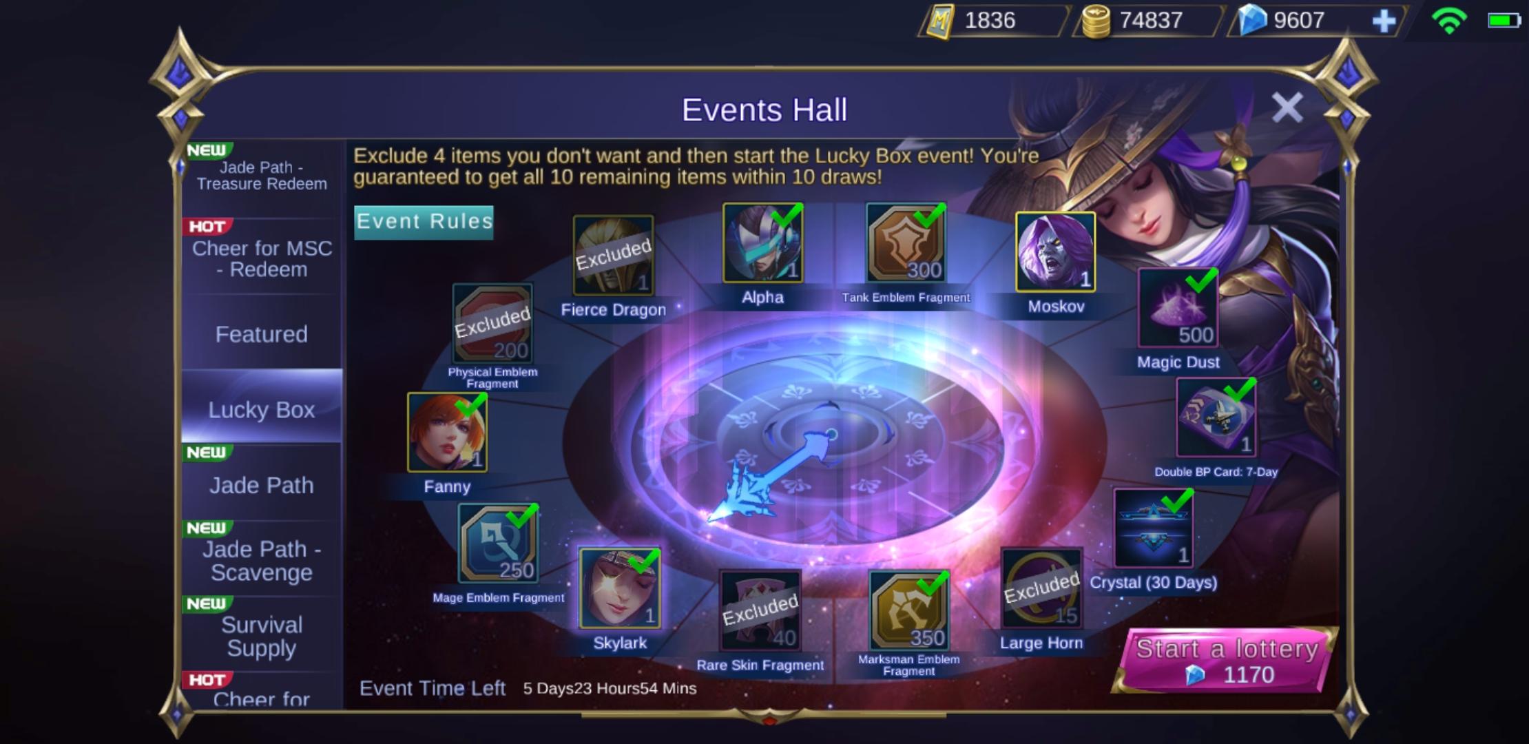 Punya Banyak Diamond Ml Beli Lucky Box Spesial Diskon Atau Event Buku Mobile Legends Esportsku
