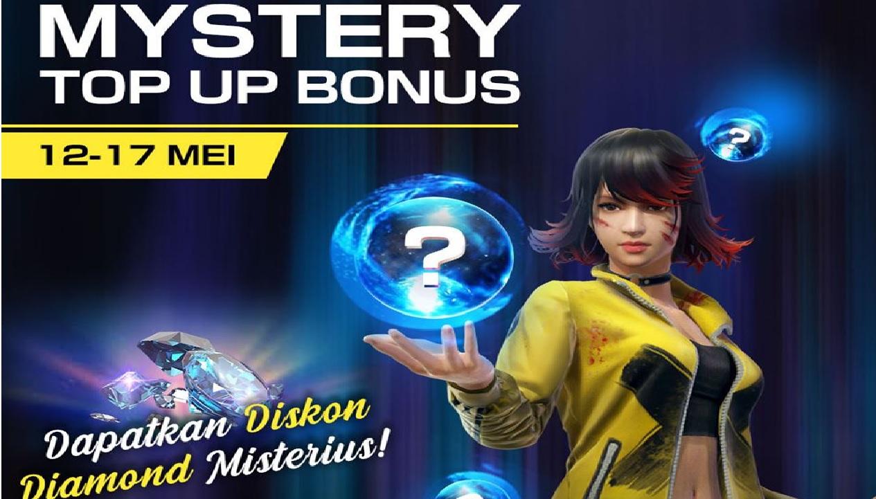 Dapatkan Bonus Diskon Diamond Murah Ff Di Top Up Mystery Free Fire Esportsku