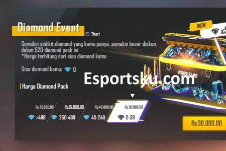 Diamond Free Fire Murah Terbaru Di Event Top Up Ff Buruan Esportsku