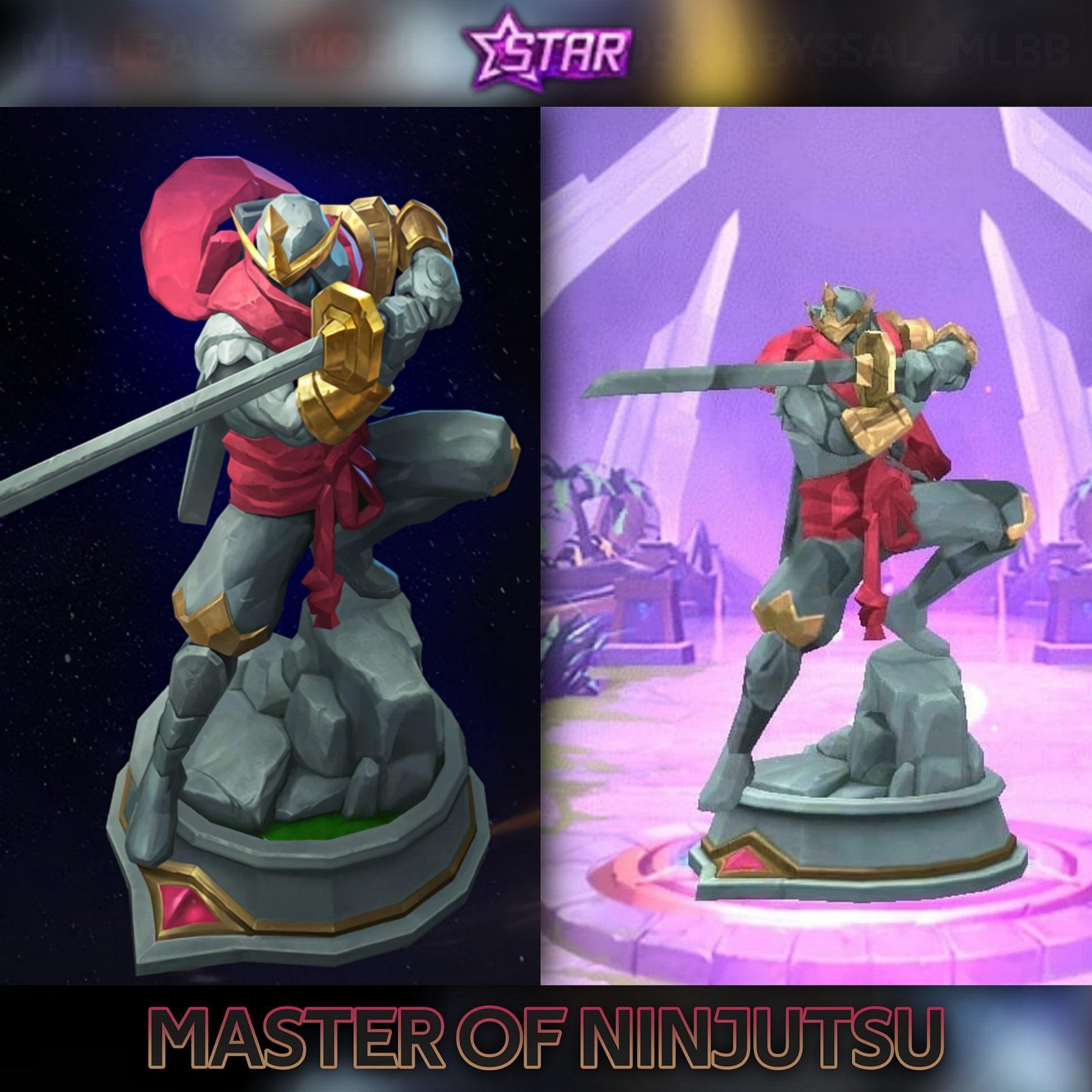 Leaked Sacred Statue Starlight Member Juli ML Hayabusa Mobile Legends, So Cool!