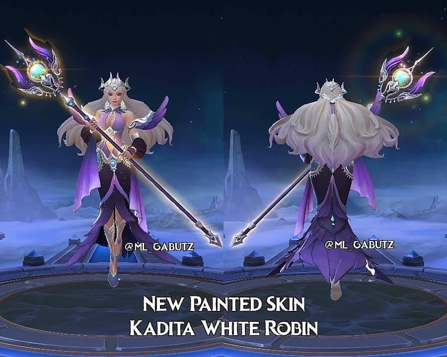 Kadita White Robin Painted Skin Ml Starlight Juli Mobile Legends Esportsku