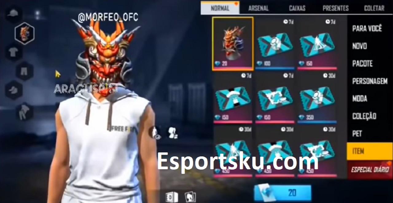 Bocoran Topeng Iblis Free Fire Di Pre Order S27 Ff Esportsku