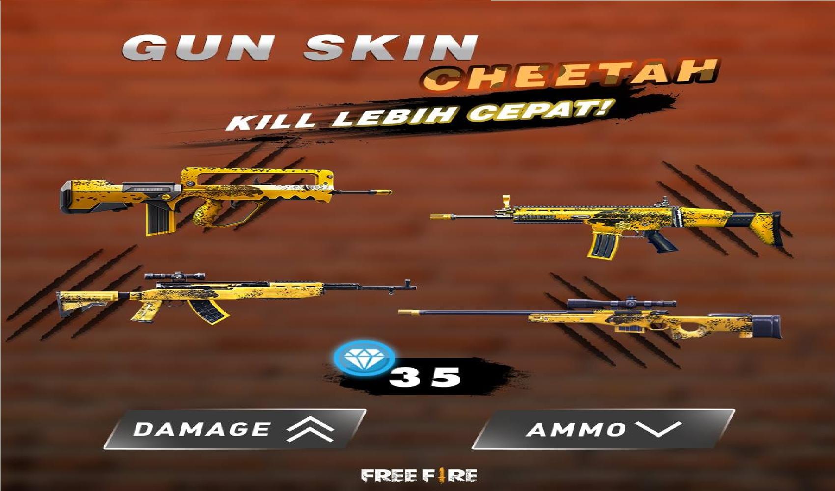 3 Skin Sniper Free Fire Dengan Damage Terkuat Auto Kill Ff Esportsku