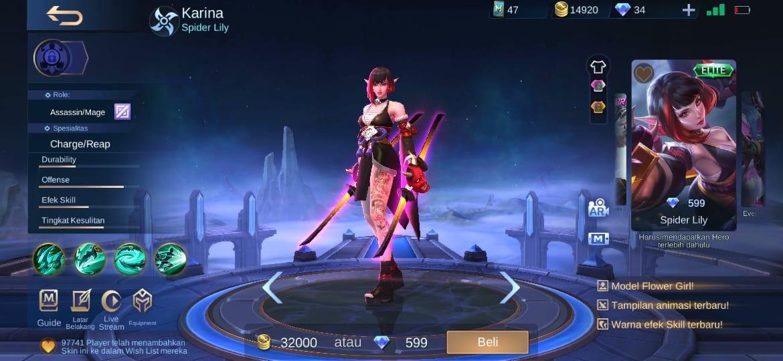 Harga Skin Elite Mobile Legends Dalam Rupiah Bikin Nanggung Ml Esportsku