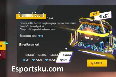 Event Diskon Diamond Ff Harus Hadir Lagi Di Free Fire Esportsku