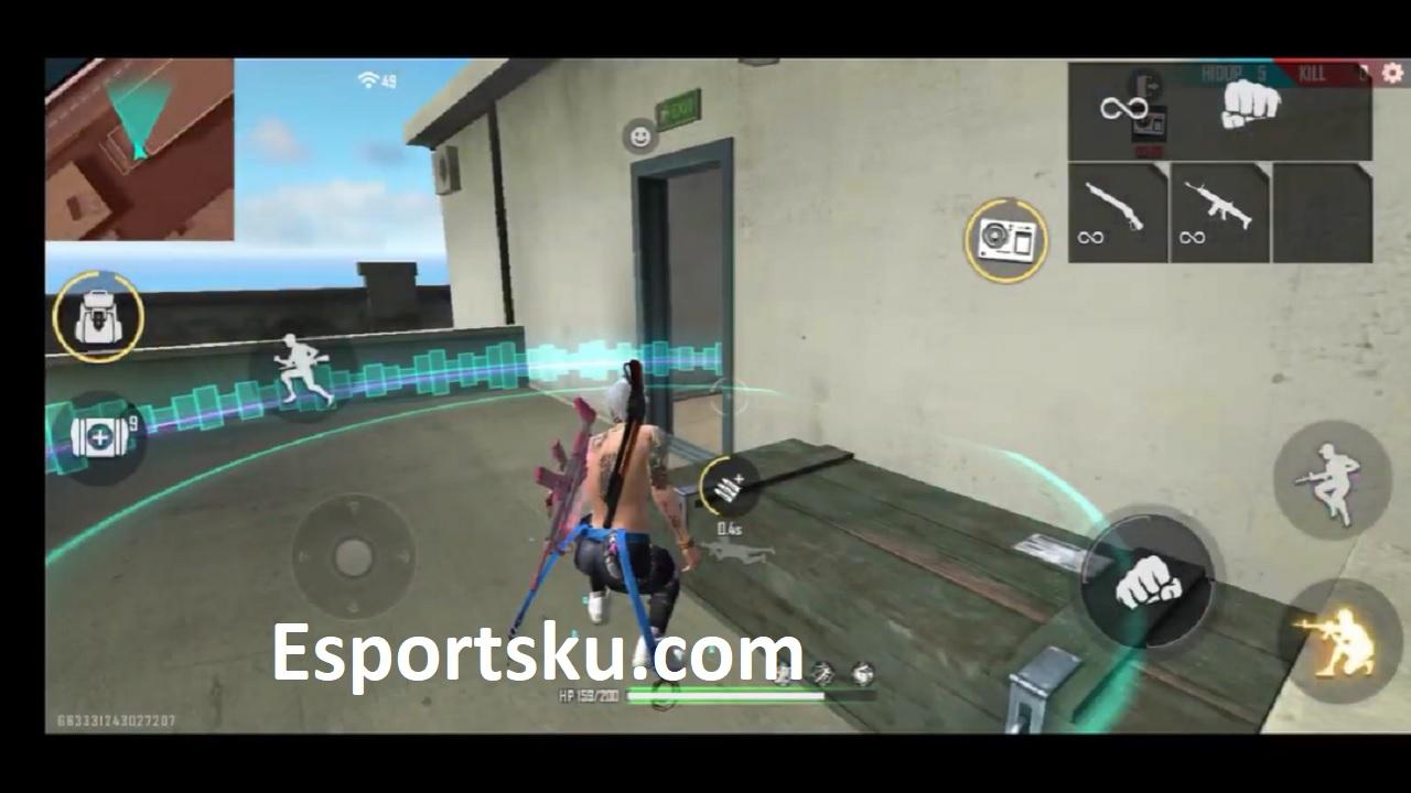 Cara Dapat Gloo Wall Ff Di Training Mode Free Fire Esportsku