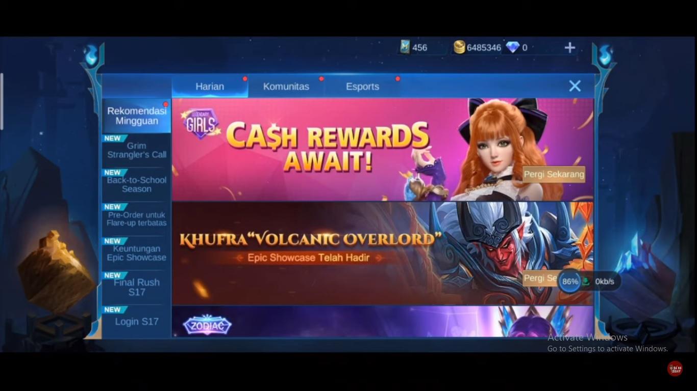 Trik Vpn Filipina Diamond Dan Skin Gratis Mobile Legends Esportsku