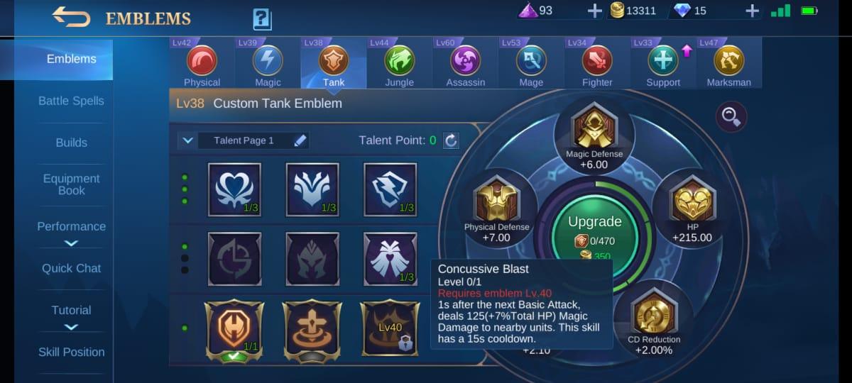 5 mejores talentos Carmilla Mobile Legends (ML)