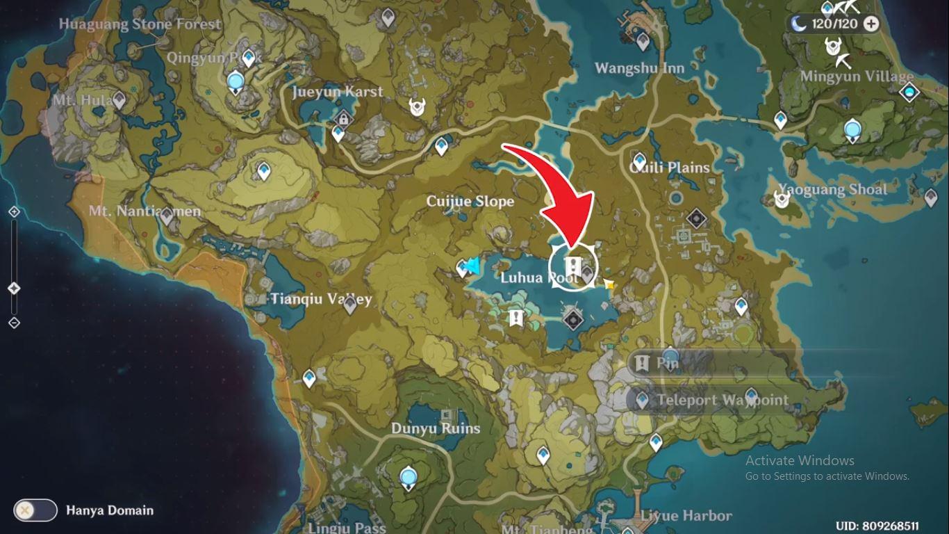 Pencarian Tersembunyi untuk Kuas di Genshin Impact