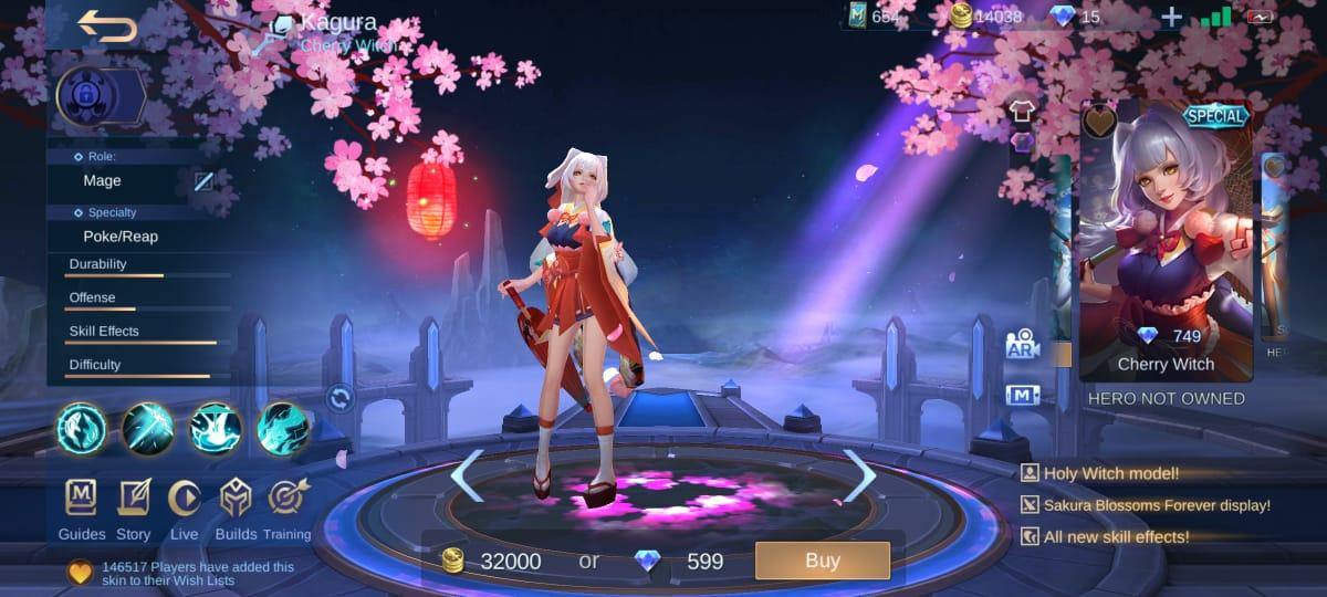 4 mejores pieles Kagura Mobile Legends (ML)