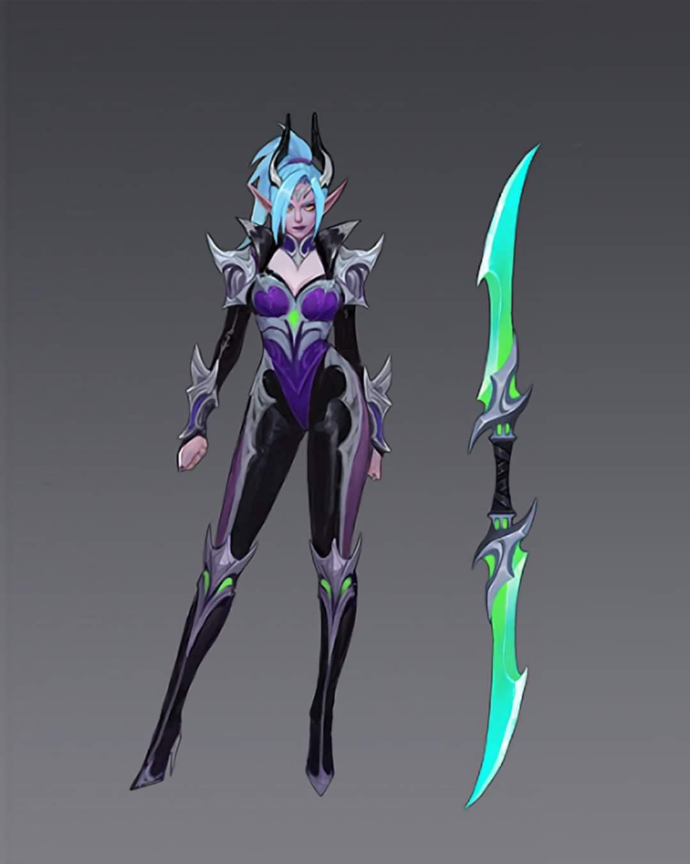 Esta es la nueva apariencia de Revamp Karina en Mobile Legends (ML)