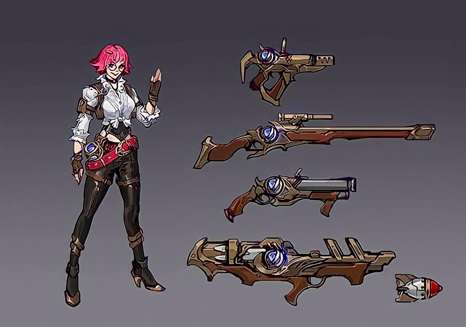 Las últimas filtraciones de Marksman Hero son similares a Layla Mobile Legends (ML)