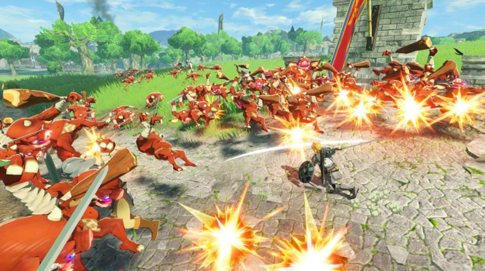 Hyrule Warriors Age Of Calamity Genre Musou Ternyata Bukan Cuman Bantai Membantai Esportsku