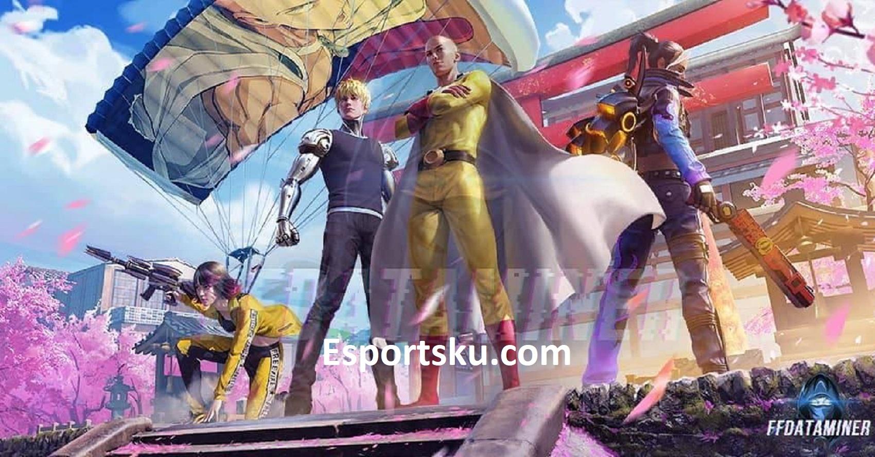 Wallpaper Free Fire X One Punch Man Keren Di Ff Esportsku