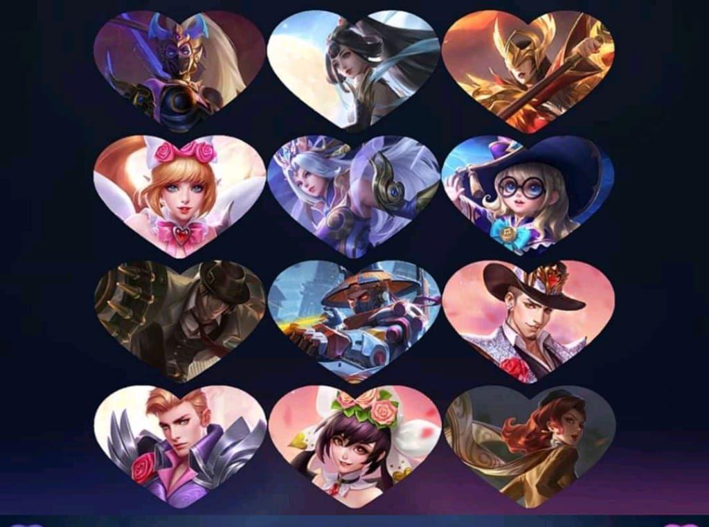 Evento de caja de fiesta de San Valentín en Mobile Legends