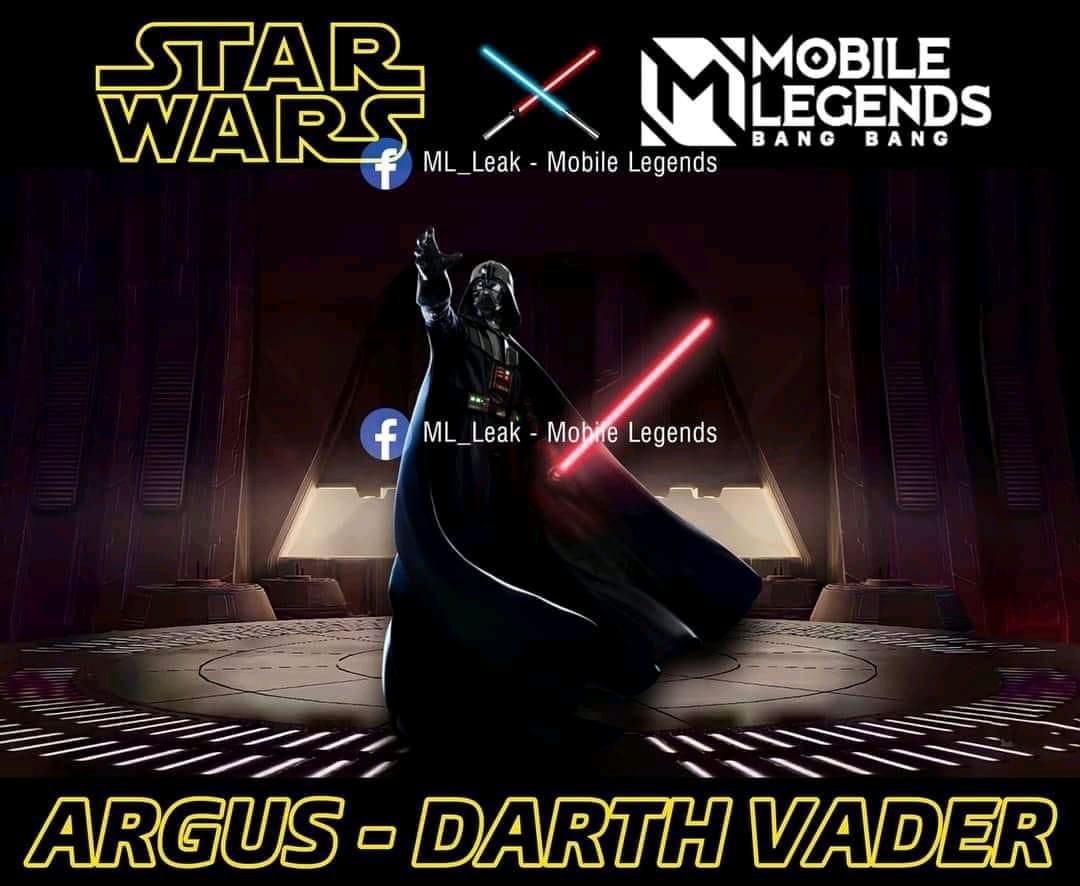 Bocoran Skin Argus Hasil Kolaborasi MLBB X Star Wars Mobile Legends (ML)