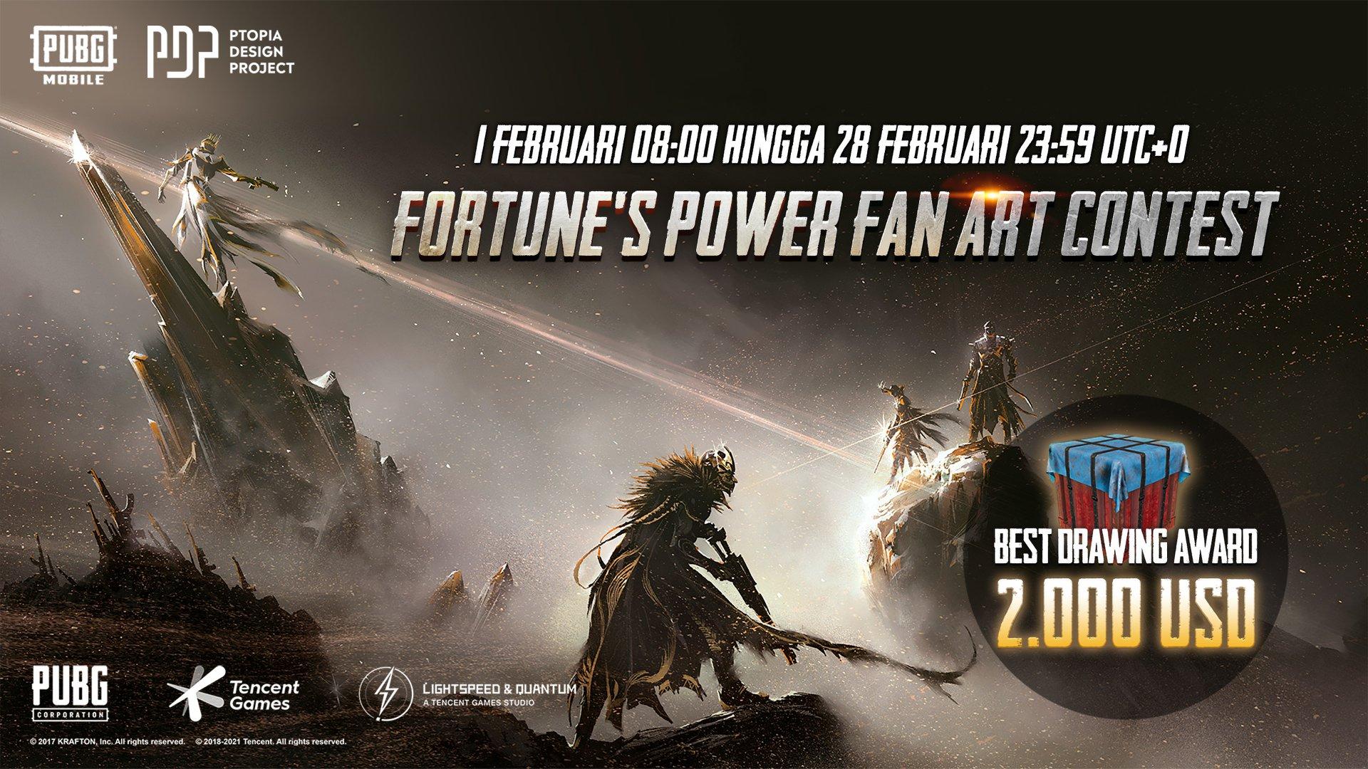 daftar pemenang Fortune's Power Fan Art Contest